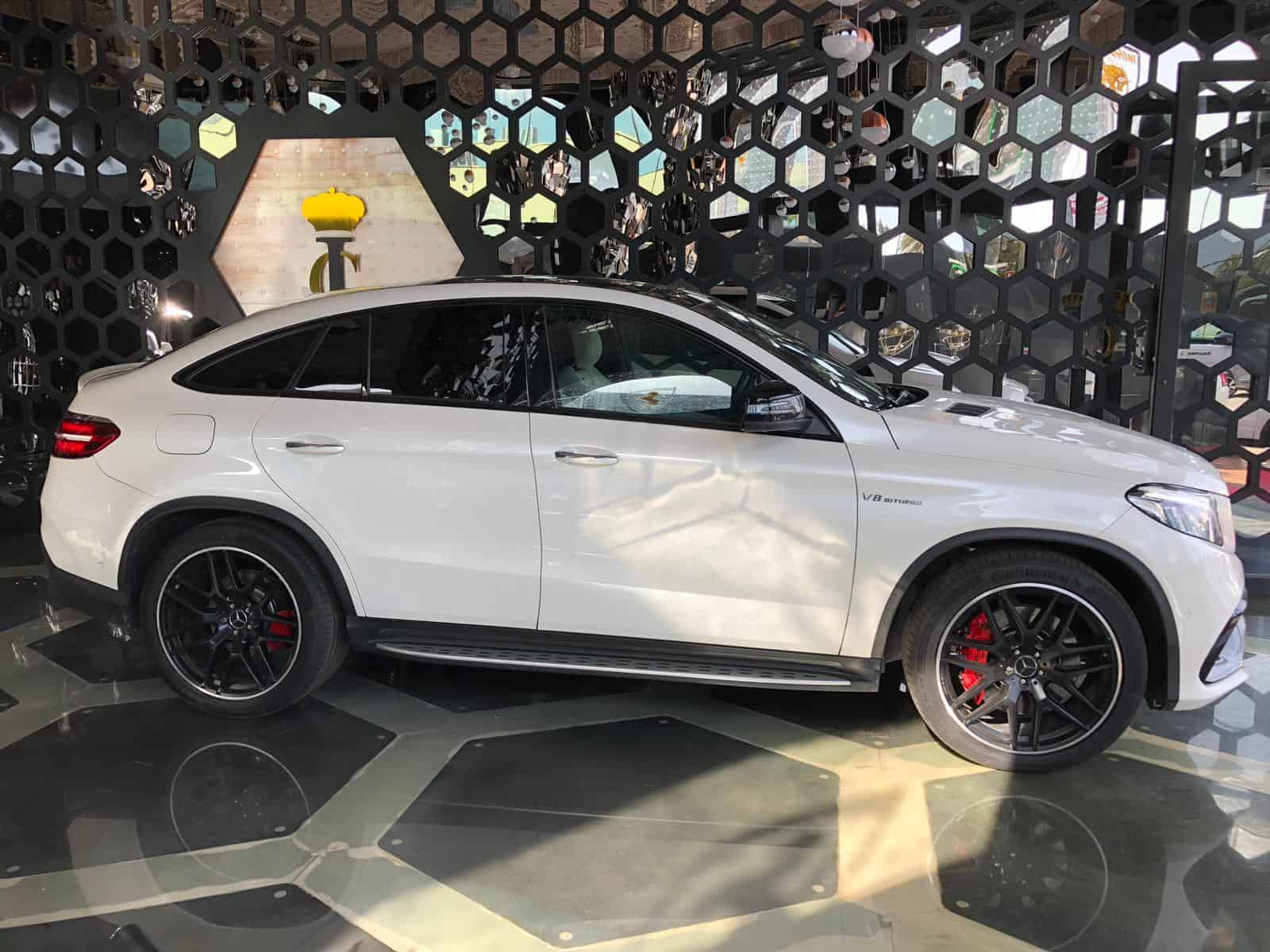 Mercedes Benz GLE 63 AMG S 4Matic Coupe